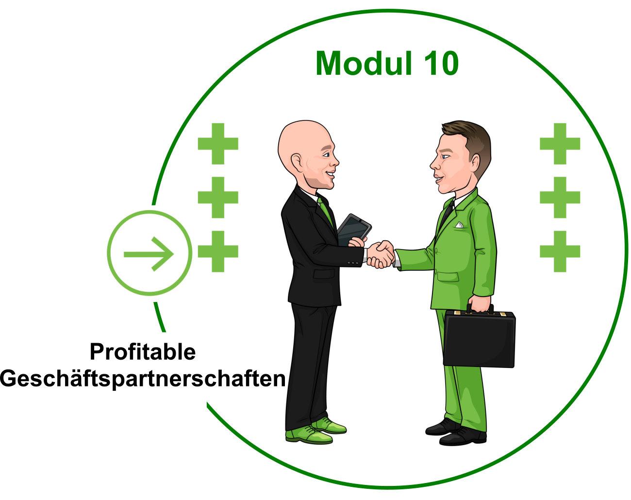 Modul 10 - Profitable Geschäftspartnerschaften