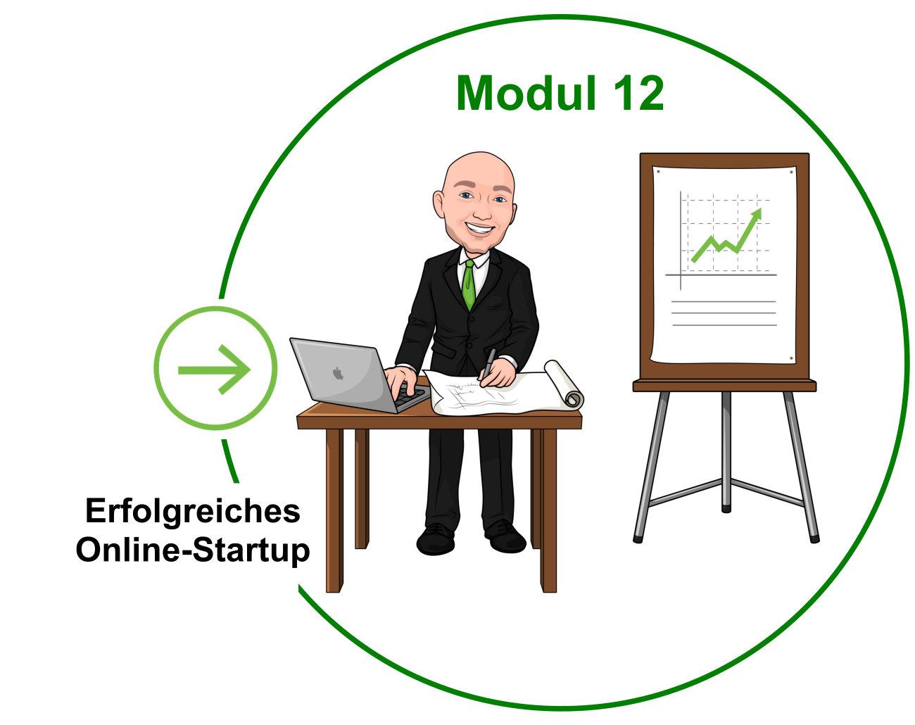 Modul 12 - Erfolgreiches Online-Startup