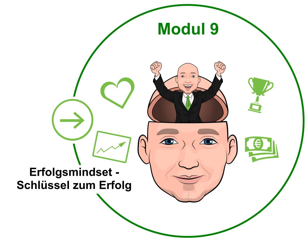 Modul 9 - Erfolgsmindset - Schlüssel zum Erfolg