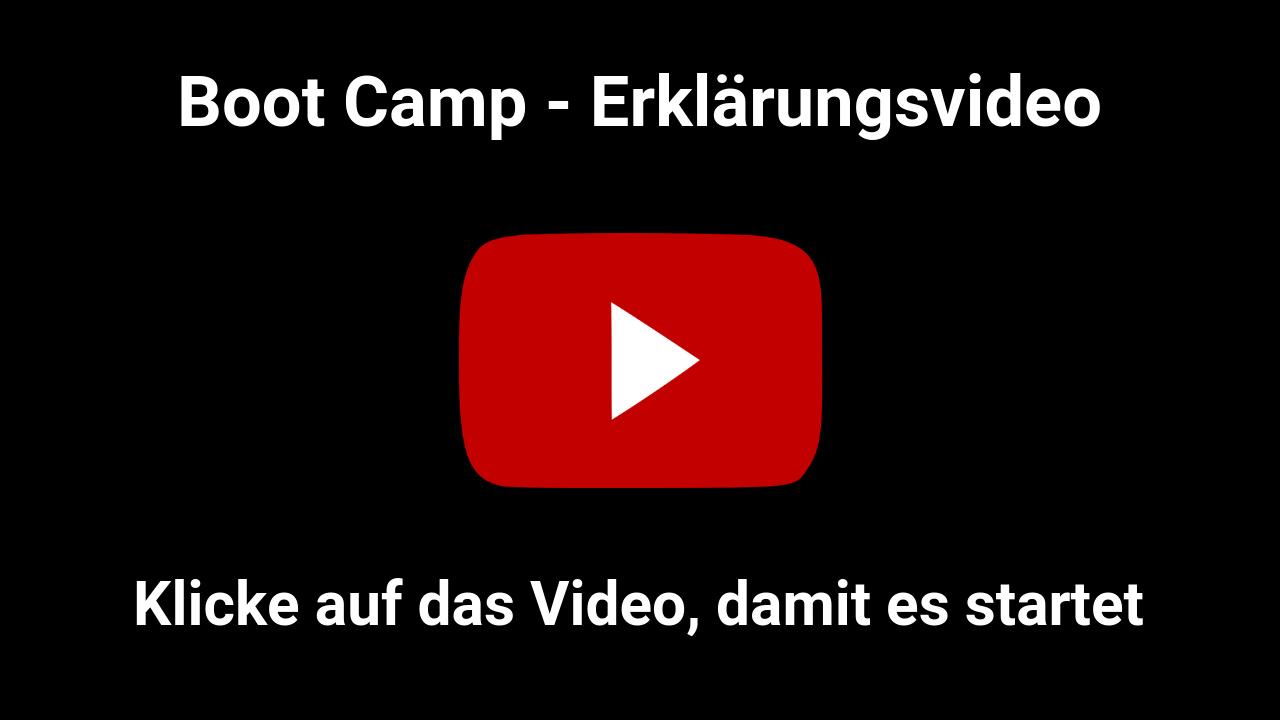 Boot Camp Erklaerungsvideo