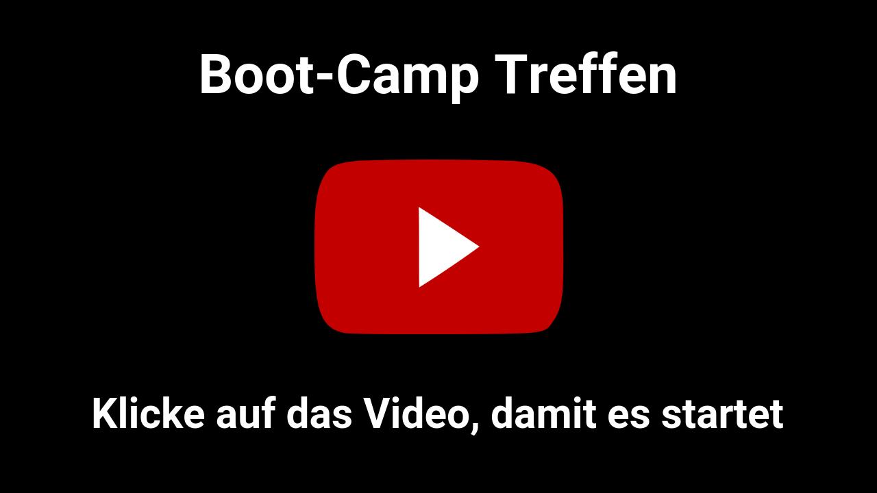 Boot Camp Treffen